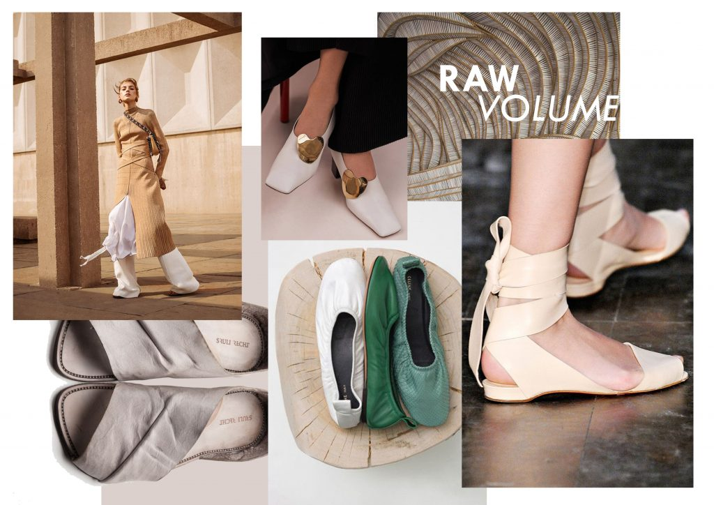 RAW VOLUME SHOE TREND